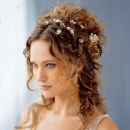pretty curly prom hairstyle