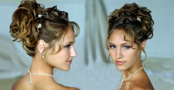 prom hairstyle for medium-length hair